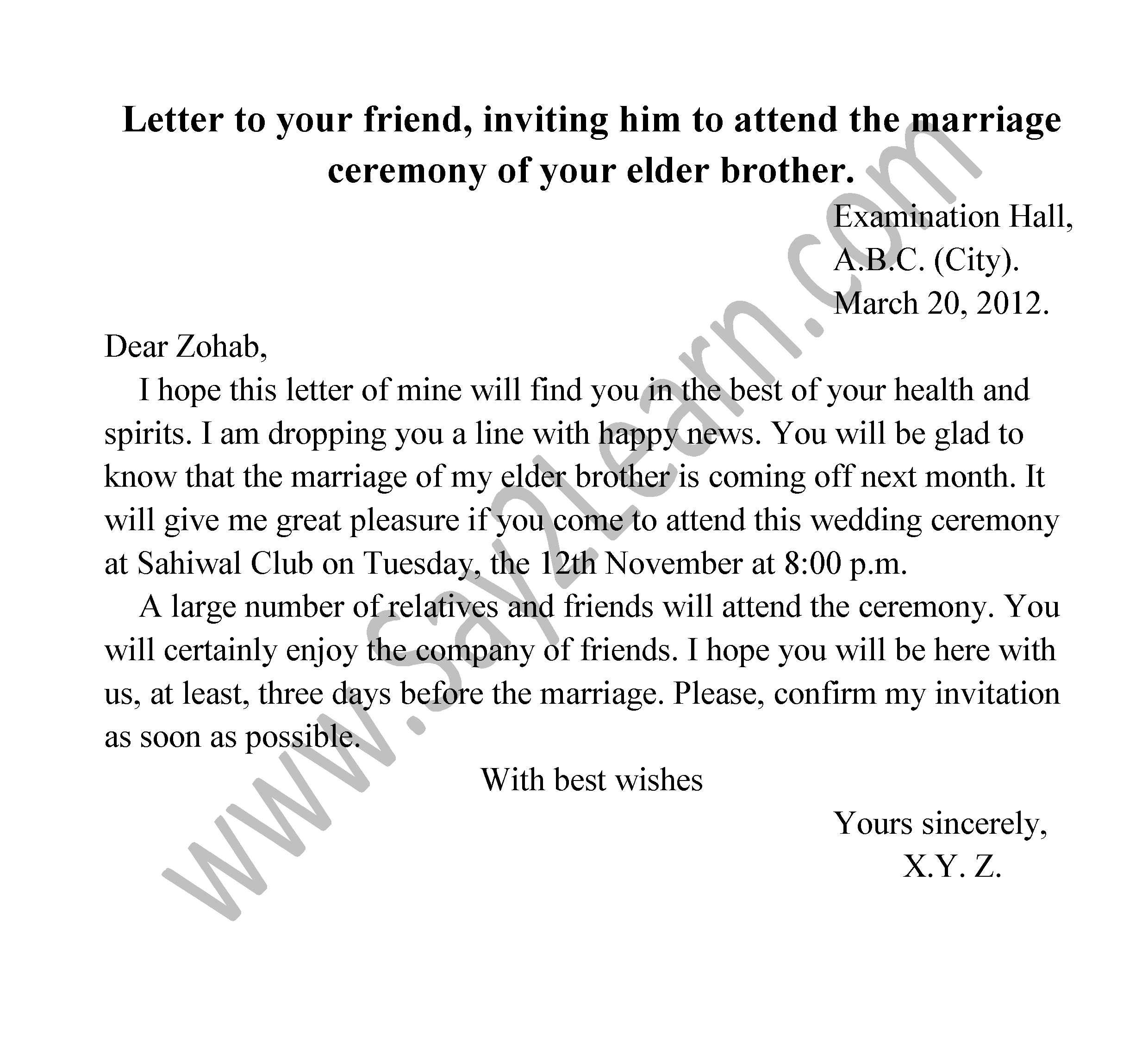 Invitation letter to your brother gallery invitation sample and invitation letter to your brother choice image invitation sample invitation letter to your brother gallery invitation stopboris Gallery
