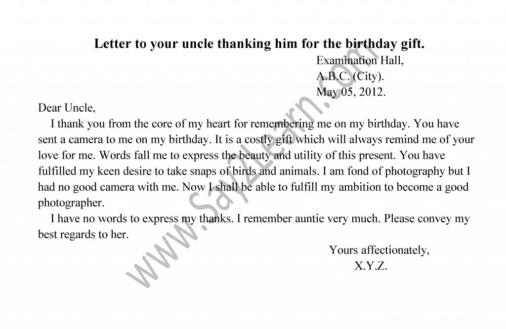 786 letter to uncle for birthday gift 219