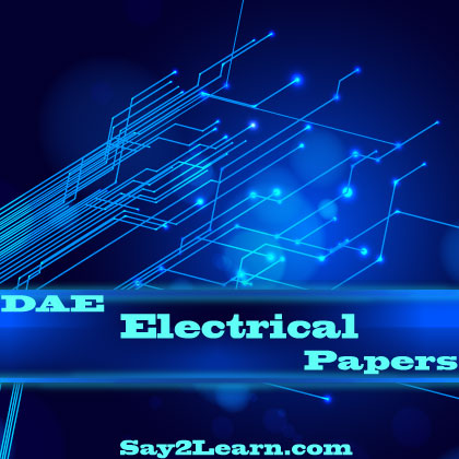 DAE-Electrical-Past-Papers
