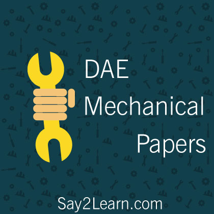 DAE-Mechanical-Past-Papers